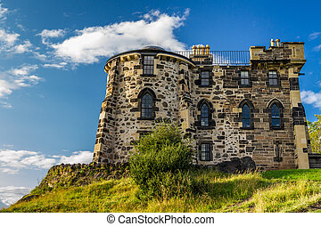 The Gothic House Edinburgh in summer