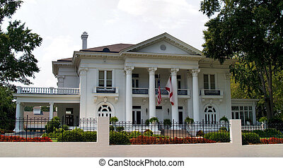 The Governor's Mansion located in Montgomery, Alabama