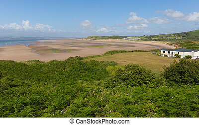 The Gower coast Broughton Bay