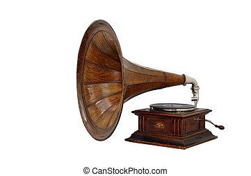 "The Gramophone ""Amour 4"", Manufacturer Gramophone Company, Riga, Latvia, 1905."