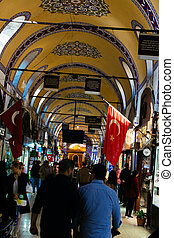 The Grand Bazaar is one of the largest and oldest covered ...