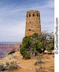 Watchtower - The Grand Canyon Desert View Watchtower ...