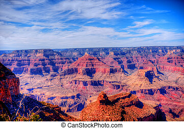 The Grand Canyon - Late afternoon in the Grand Canyon ...