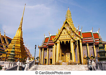 The Grand Palace Wat Phra Kaew in Bangkok, Thailand