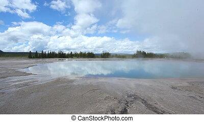 The Grand Prismatic, Yellowstone NP - The Grand Prismatic,...