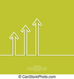The graph shows the growth and profit. Income from a...