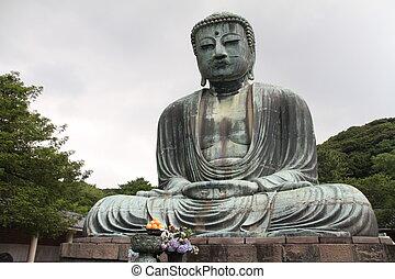 The Great Buddha in Kamakura, Japan
