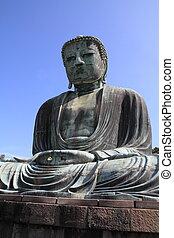 The Great Buddha in Kotoku-in temple