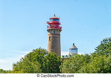 Lighthouse Cape Arkona in Ruegen