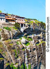 The Great Meteoro Monastery in Meteora, Greece - The Great ...