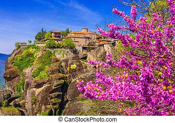 The Great Meteoron Monastery in Meteora, Greece - The Great ...