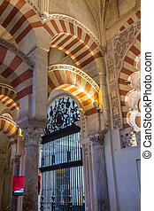 The Great Mosque of Cordoba, Spain
