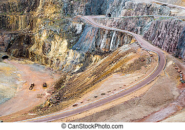 The great pit - The great copper pit world heritage site in...