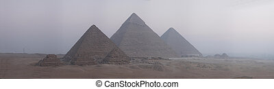 The Great Pyramids - Pyramids panorama 4340x1260. Larger ...