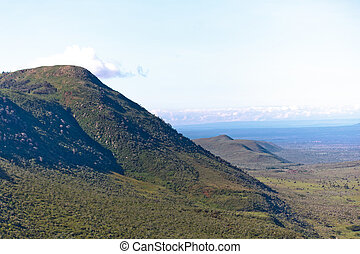 The Great Rift Valley in the Kenya