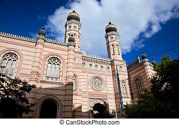 The Great Synagogue. Budapest, Hungary - The Great Synagogue...