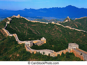 The Great Wall in Beijing,China