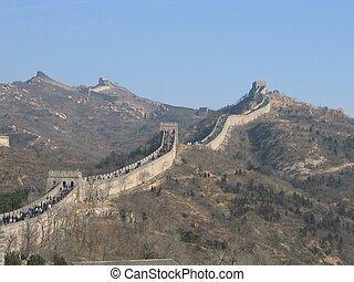 Great Wall of China - The Great Wall of China, Diagonal...