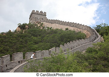 the Great Wall of China on - Great Wall of China on June 12...
