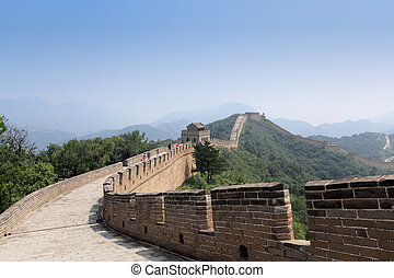 the great wall,an impregnable bulwark in beijing