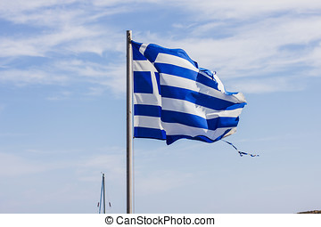 Greek National Flag