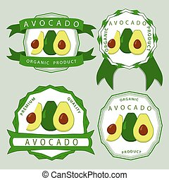 The green avocado
