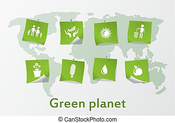The green planet.