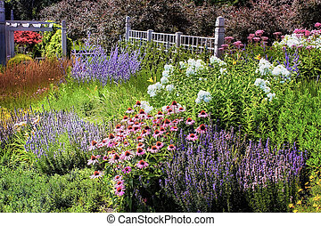 Annual Garden - The Griggs/Burke Annual Garden at the...