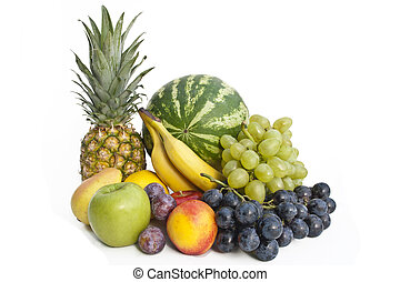 The group of fruits