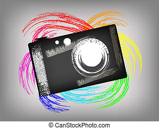 The grunge camera