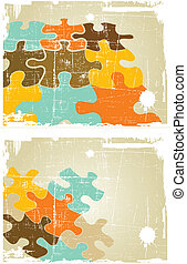 the grunge vector retro abstract background