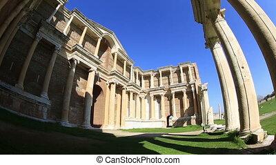Sardis Ancient City - The Gymnasium of Sardis Ancient City...