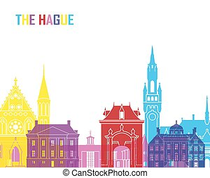 The hague skyline Stock Illustrations. 30 The hague ...