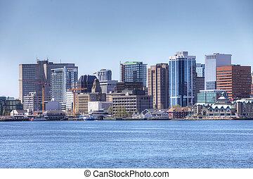 The Halifax, Nova Scotia city center