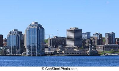 Halifax, Nova Scotia skyline in the morning - The Halifax,...