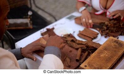the hands of Cubans