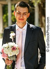 The happinest groom