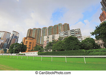 the happy valley area view from play ground