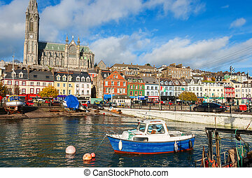 Cobh. Co Cork, Ireland - The harbour at Cobh. Co Cork,...