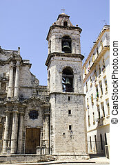 The Havana Cathedral in Cuba