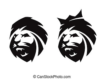 The head of a lion, two options.