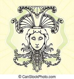 The head of Medusa.