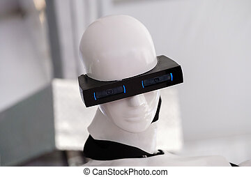 The head of the robot