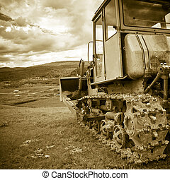 heavy duty - the heavy duty with the clouds background ...