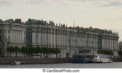 The Hermitage in St. Petersburg - The Hermitage, the Winter...