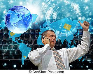 The hi-tech internet