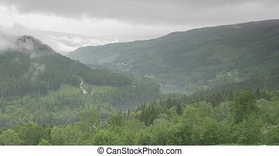 The Highlands Of Norway - Untouched and stabilized material,...