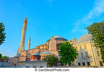 The historic centre of Istanbul.