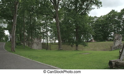 The historic place where old castle remains is located in Estonia FS700 Odyssey 7Q
