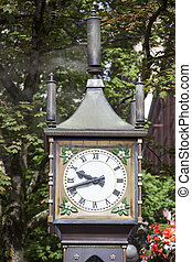 The Historic Steam Clock